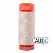Aurifil 50 Cotton Thread - 2310 (Light Beige)